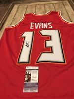 Mike Evans Autographed/Signed Jersey JSA COA Tampa Bay Buccaneers Texas A&M