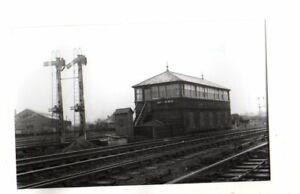 Rail Photo LMS LNWR Chester No 5 Birkenhead Junction signal box Cheshire  GWR