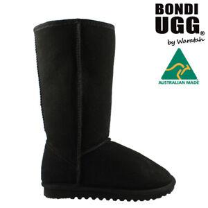 BONDI UGG Classic Tall Sheepskin Boot - BLACK
