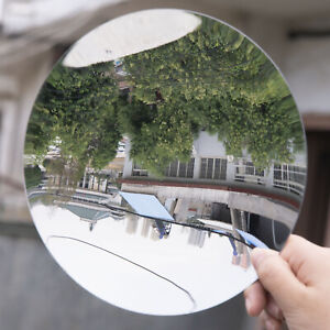 Plastic Acrylic Parabolic Mirror Minor Focus UV Protection Sturdy Concave lens