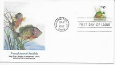 US Scott #2481, First Day Cover 12/2/92 Washington Single Sunfish