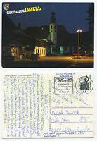 19650 - Inzell bei Nacht - Ansichtskarte, gelaufen 17.10.1991