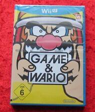 Game & Wario Wii U, Nintendo WiiU juego, nuevo, versión en alemán