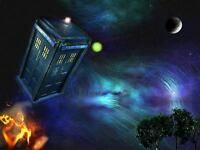 DR WHO TARDIS A4 260GSM POSTER PRINT ART