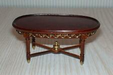 MINIATURE DOLLHOUSE 1:12 SCALE-BESPAQ PASCALE AUBUSSON COFFEE TABLE 2302-CT-NWNG