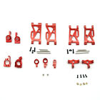 Aluminum A-arms Hubs steering components Upgrade Parts Set For WLToys 144001