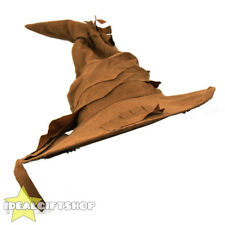 BROWN WIZARD WITCH HAT HALLOWEEN FANCY DRESS SORTING BOOK FILM CHARACTER ACCESSO