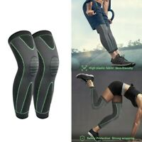Weaving Knee Sleeve Brace Pad Support Stabilizer Sports Running Joint Pain Hot