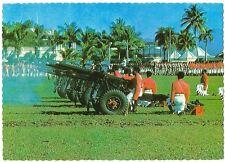 Postcard Fiji Royal Fiji Military Forces 21 Gun Salute Unused MINT