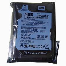 "WD Black 750GB Internal 7200RPM 2.5"" SATA WD7500BPKT Hard Disk Drive For Laptop"
