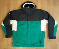RipZone International Core 1000mm Mens Coat XL Snowboard Ski Jacket Green Black