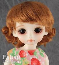 """Fatiao - New Caramel Dolls Wig - Dollfie Yo-SD 1/6 BJD size 6-7"""""""