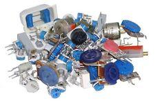 Trim Pot Resistor Assortment - 250 pieces (0.5lb Bag).   (92P001)