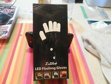 LUWINT LED FLASHING GLOVES  NEW
