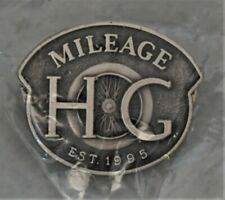 """Harley Owners Group """"MILEAGE"""" Pin"""