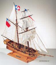 "Beautiful, top quality Corel wooden model ship kit: the ""Toulonnaise""  (#SM52)"