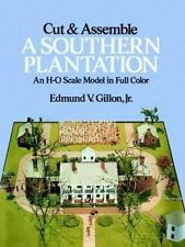 Cut and Assemble a Southern Plantation (Dover Children's Activity Books)