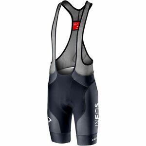 NEW Castelli Free Aero Race 4 Team INEOS Bib Shorts, Savile Blue, Large