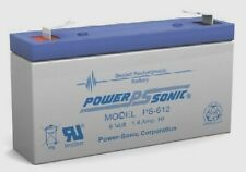 BATTERY COMPATIBLE BB BP1.2-6  6V 1.2AH PS-612 F1 EACH