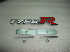 New 3D Racing Front Grill Grille Metal Badge Emblem for Type R typer -C
