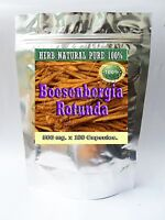 Boesenbergia Rotunda, Kra chai, Chinese ginger,finger root  500 mg.180 Caps.