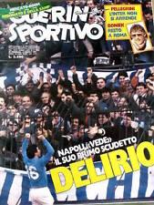 Guerin Sportivo 9 1987 Napoli vede il primo scudetto - MILAN Juventus [GS.29]