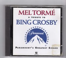 (IL799) Mel Torme, A Tribute To Bing Crosby - 1994 CD
