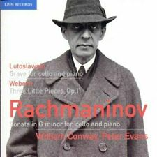 Conway Evans - Rachmaninov / Lutoslawski / Webern [New & Sealed] CD
