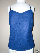 NEW YORK  CO  WOMANS BLUE FLORAL TANK TOP  SIZE 6