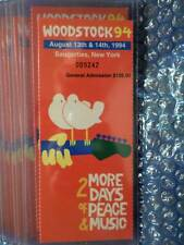 1994 WOODSTOCK Tickets Redeemed at Concert