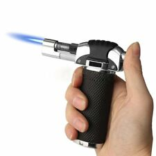 Adjustable Refillable Blow Torch Flame Kitchen Chef Cook Food Light Fire BBQ UK