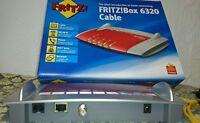 FRITZBOX 6320 Cable V2 Wlan Box DECT Phone Fritz!Box 6320 Cable Modem Unitymedia