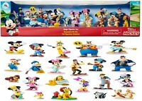 Disney Mickey Mouse and Friends Mega Figurine Set Ages 3+ Minnie Pluto Daisy Fun