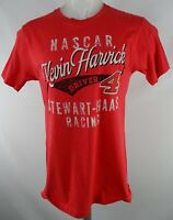 #4 Kevin Harvick Nascar Men's Red Short Sleeve T-Shirt