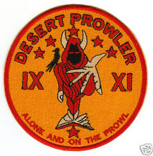 USAF PATCH, RQ-170 UAV DESERT PROWLER, ALONE AND ON THE PROWL                Y