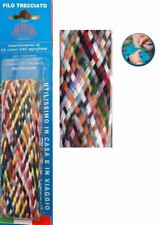 Treccia multicolore di filo per cucito e rammendo 240 gugliate in 24 colori