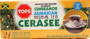 3 x Tops Jamaican Cerasee Herbal Tea 33.6g (24 Tea Bags)