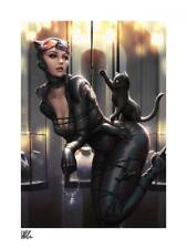 Sideshow: DC Comics Art Print Catwoman: All Tied Up by Kendrick Lim 46 x 61 cm