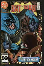 Batman 387 DC Comics VFN Glossy cover White pages Black Mask 2nd appearance