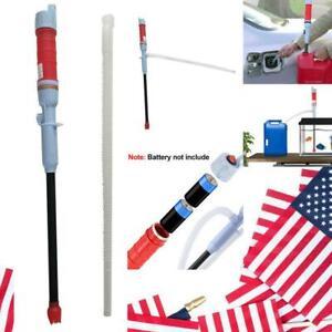 Portable Water Pump Liquid Transfer Pump Gas Oil Siphon Battery Operated Pump