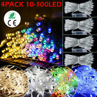 1-10M 10-100 Lights LED Fairy String Battery Operated Christmas Wedding Party