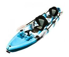 Kayak 3.7m Eagle 2+1 Ocean Blue