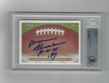 DON SHULA Signature Card AUTO signed BAS Beckett Authentic autographed