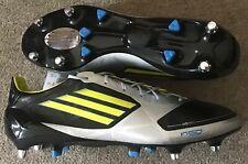 NEW ADIDAS F50 ADIZERO SG SYNTHETIC FOOTBALL BOOTS UK 13