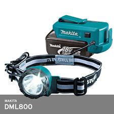 Makita DML800 Head Lantern 18v-14.4v Li-Ion 1.6W LED illumination **Body Only**
