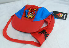 Angry Birds Sun Safe Hat Cap - UPF 50+ Protection & Neck Shield 1-2 years - BNWT
