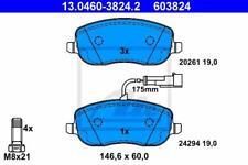 1x ATE vorne BREMSKLÖTZE Bremsbeläge Fiat Croma 1.9 2.4 D Multijet ATE 13-0460-3