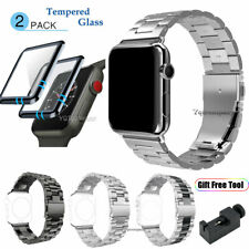 For Apple Watch Series 5 4 3 2 1 Stainless Steel Wrist Band Strap 38 40 42 44mm