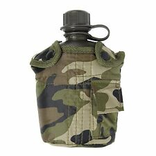 Army Combat Military GI Water Bottle DPM Case GI British Camo Waist Belt Pouch