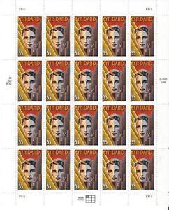 #3308 Literary Arts Series Ayn Rand Full mint sheet of 20 MNH OG